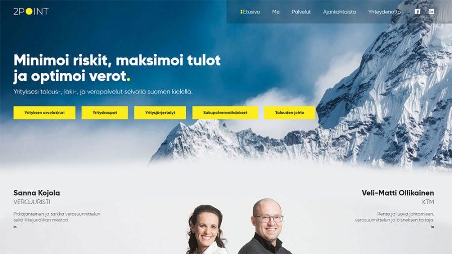 2Point verkkosivut