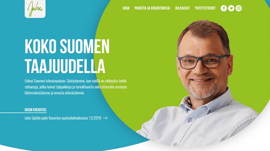 Juha Sipilä verkkosivut