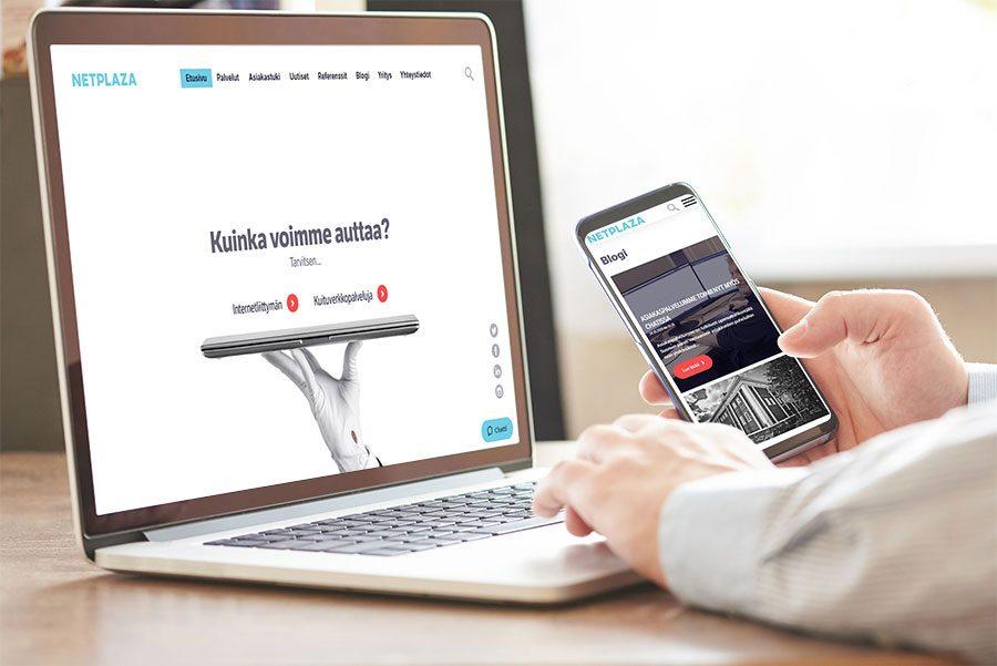 Netplaza verkkosivut