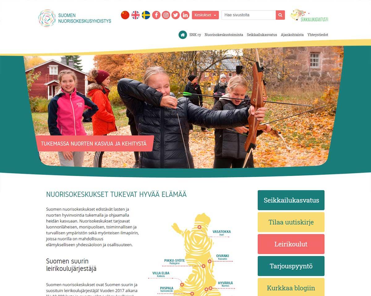 Snk.fi ennen uudistusta