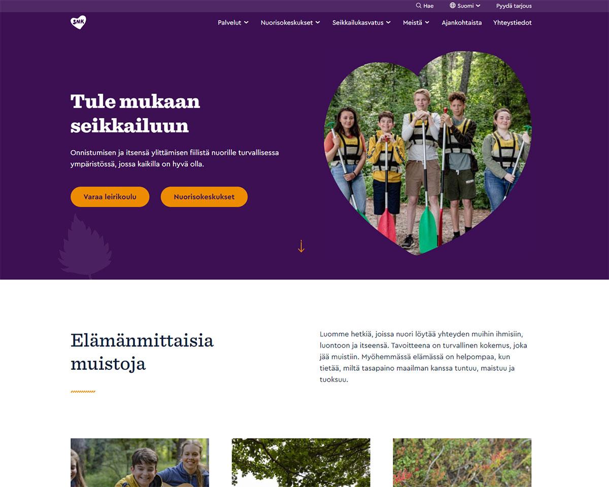 Snk.fi uudistuksen jälkeen