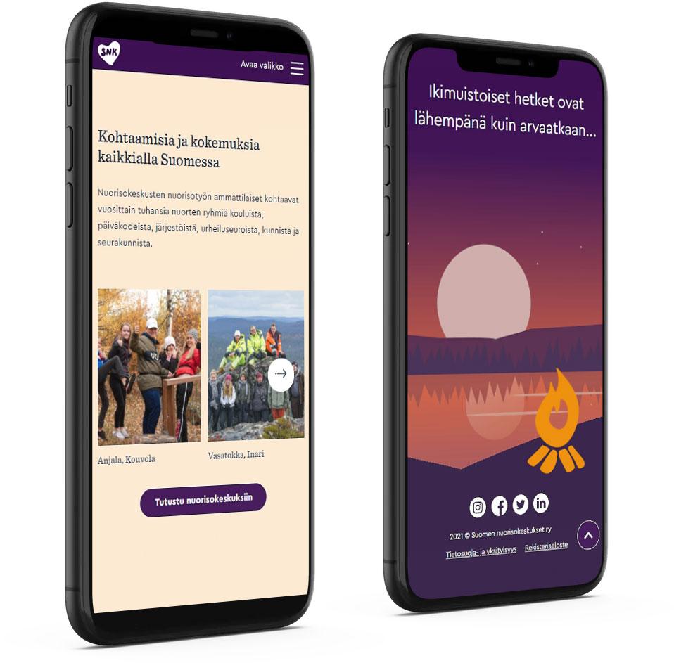 Snk.fi mobile